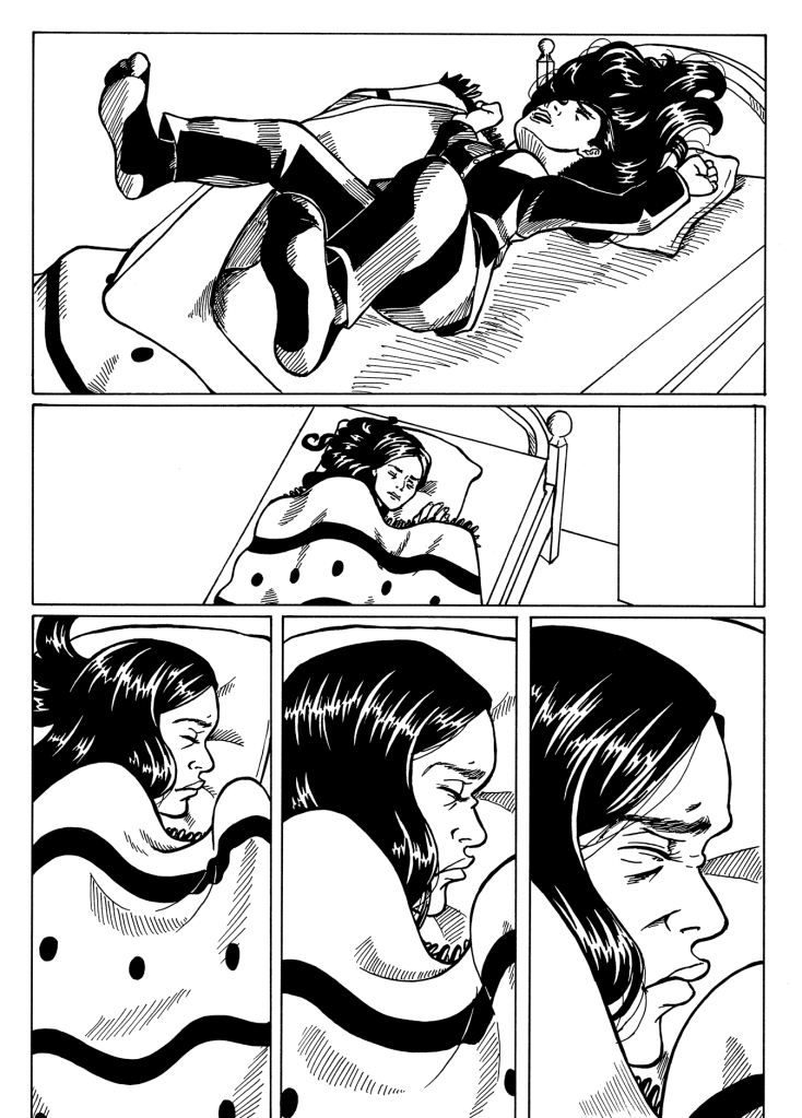 Small Things Comic - Cold Feet Page 5 Corrections