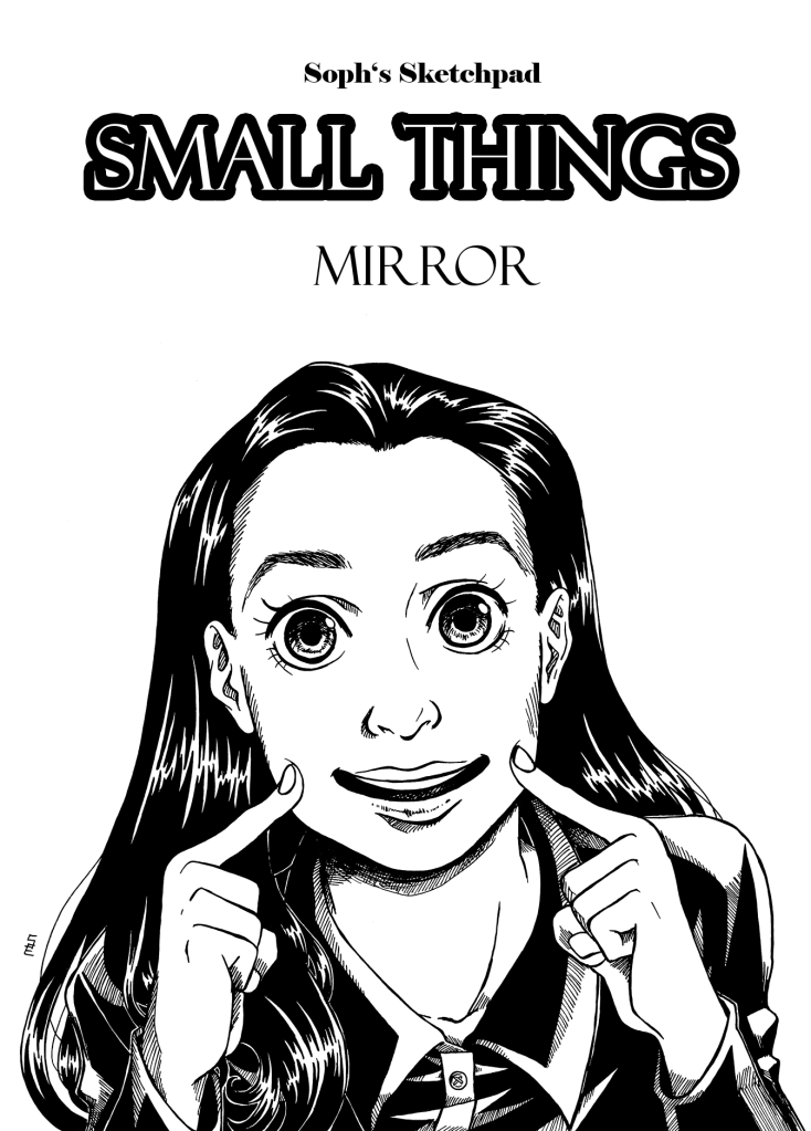 Small Things Mirror Cover Page 1 English